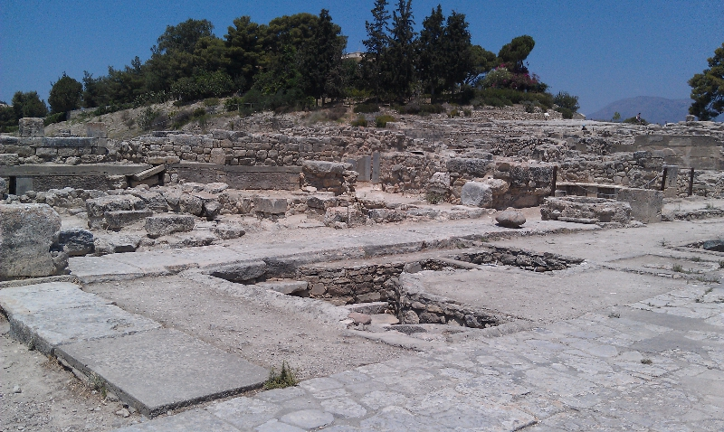 Tempelruine Phaistos