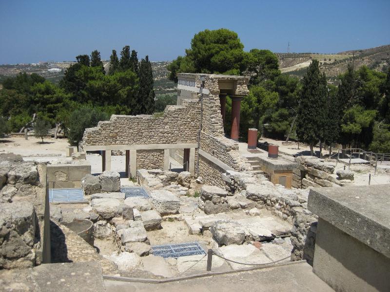 Tempelruine Knossos